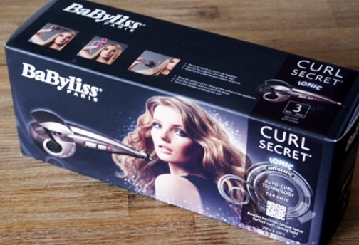 Swatch Curl Secret, Babyliss