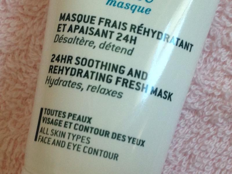 Swatch Masque Crème Fraîche, Nuxe