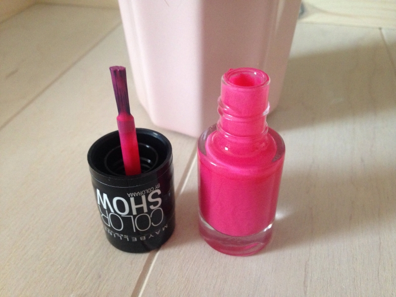Swatch Vernis New York Color Show by Colorama, Gemey-Maybelline