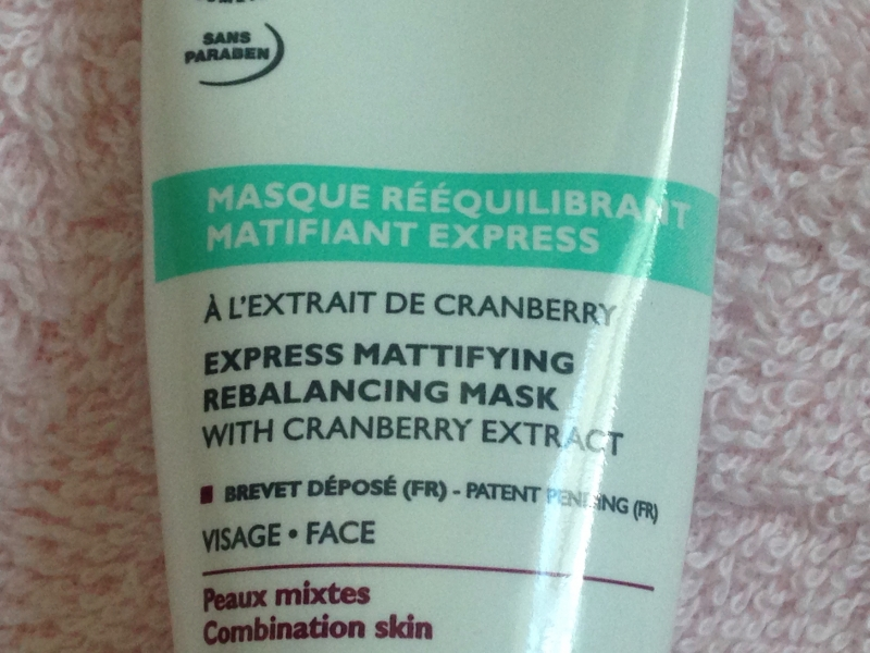 Swatch Masque rééquilibrant matifiant express - 50 ml, Bio Beauté by Nuxe