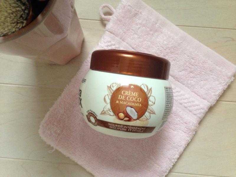 Swatch Masque Multi-Usages 3-en-1 Crème de Coco & Macadamia, Garnier