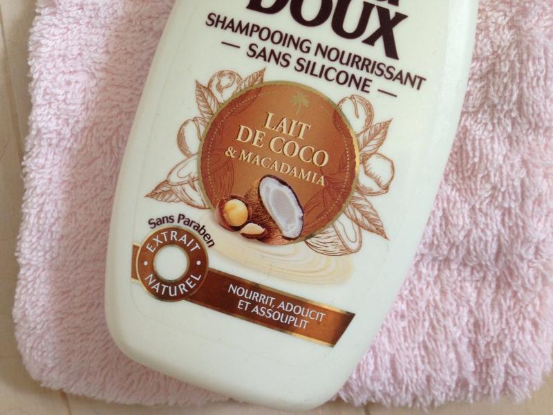 Swatch Shampooing Nourrissant Lait de Coco & Macadamia, Garnier