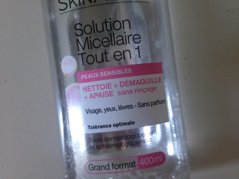 Swatch Solution Micellaire Tout en 1, Garnier