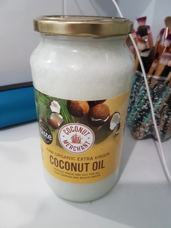Swatch Coconut Oil Raw Organic Extra Virgin, Coconut care