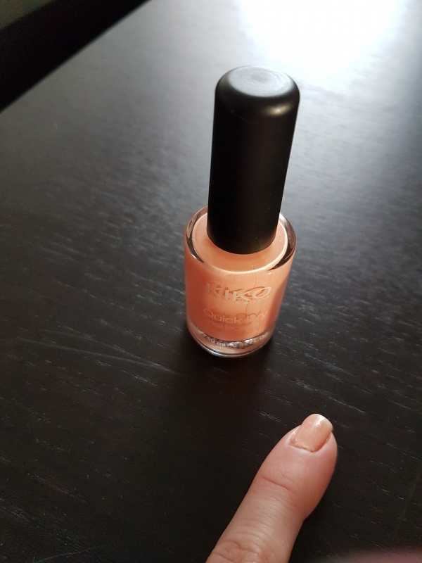 Swatch Quick Dry Nail Lacquer, Kiko