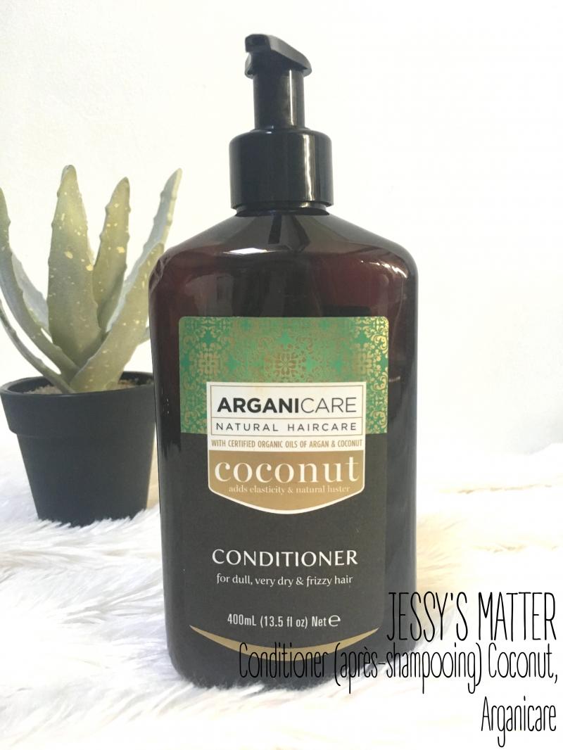 Swatch Coconut Conditioner, Arganicare