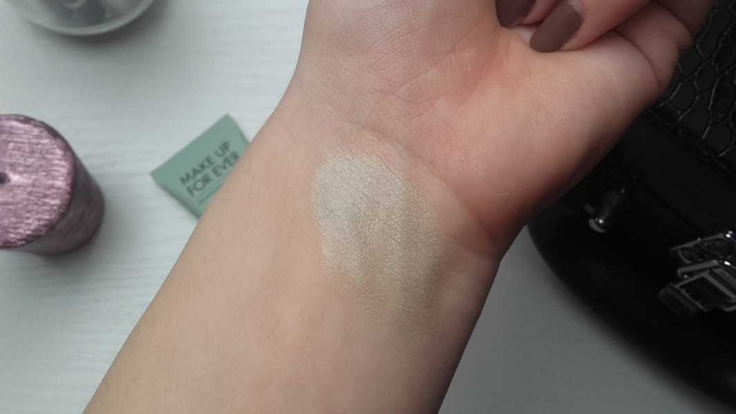 Swatch Step 1 Base correctrice de rougeurs - Format voyage, Make Up For Ever