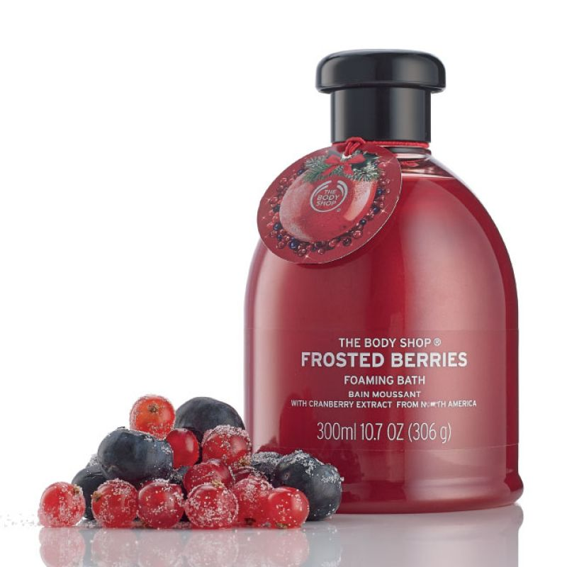 Bain Moussant Frosted Berries, The Body Shop : Team Vanity aime !