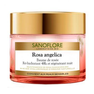 Baume de rosée ré-hydratant 48h et régénérant nuit Rosa Angelica, Sanoflore - Infos et avis