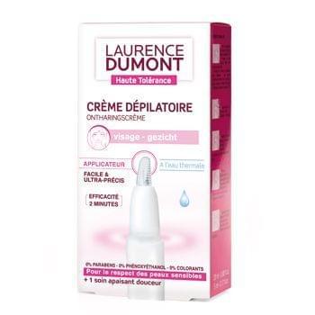 Crème dépilatoire Haute tolérance Visage, Laurence Dumont - Infos et avis