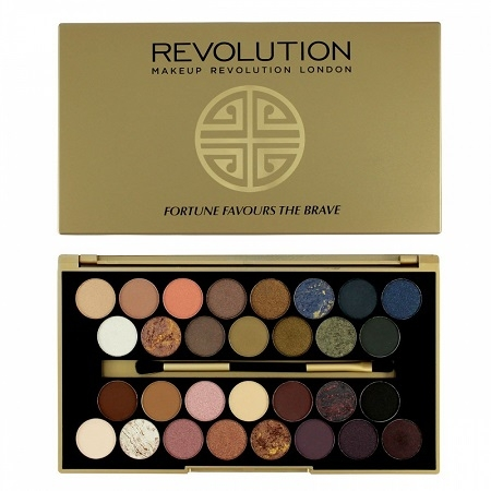 Palette Fortune Favours the Brave, Makeup Revolution - Infos et avis