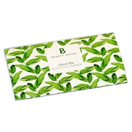 Green Tea Blotting Paper, Beauty Paper : Team Vanity aime !