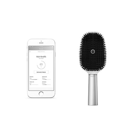 Hair Coach Brosse connectée Kérastase x Withings, Kérastase : Team Vanity aime !