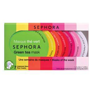 Kit 7 Masques Tissus, Sephora - Infos et avis