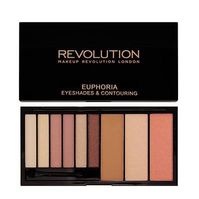 Euphoria Eyeshadow and Contour Palette, Makeup Revolution : Team Vanity aime !