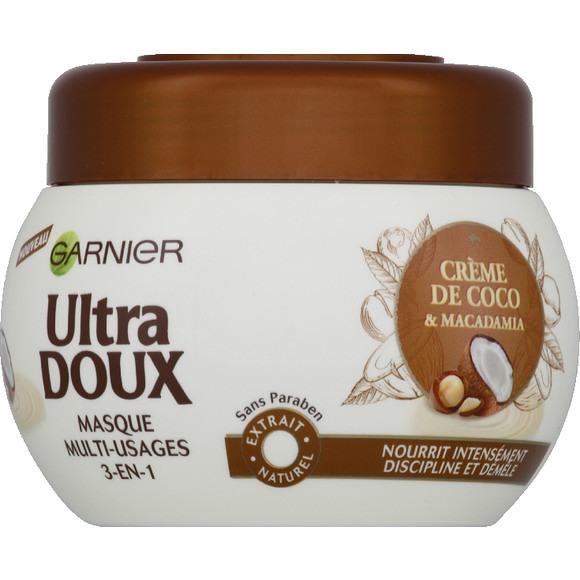 Masque Multi-Usages 3-en-1 Crème de Coco & Macadamia, Garnier - Infos et avis