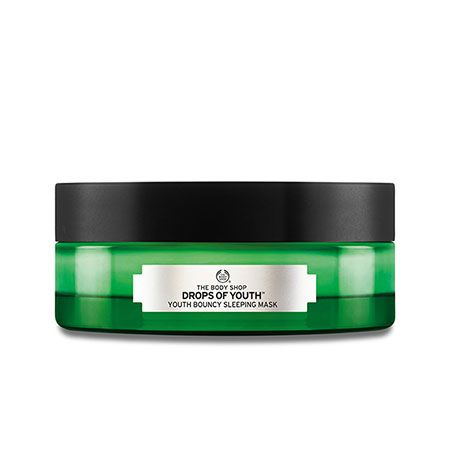 Masque de nuit Drops of Youth, The Body Shop : Team Vanity aime !