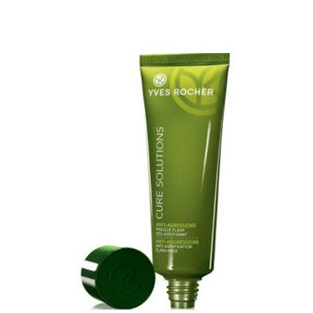 Masque Flash Des-Asphyxiant - Cure Solutions Anti-Agression, Yves Rocher : Team Vanity aime !