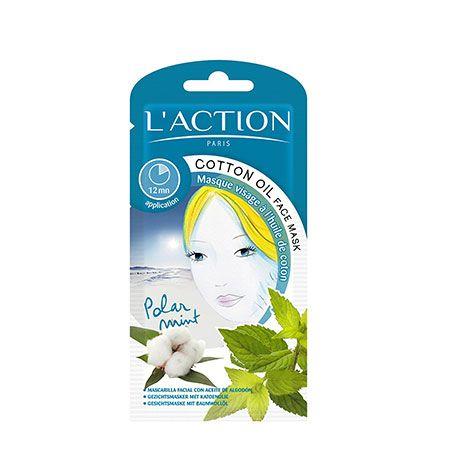 Masque Visage à l'Huile de Coton, L'action Paris - Infos et avis