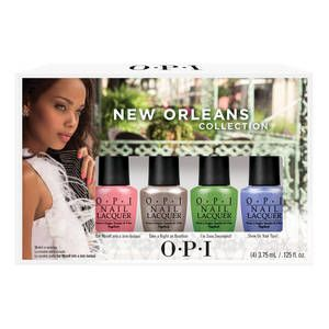 Mini-kit de vernis New Orleans, OPI : Team Vanity aime !