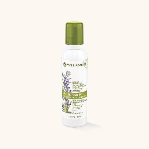 Mousse Hydratante Anti-Repousse - Toutes peaux - Soin Végétal Corps, Yves Rocher - Infos et avis