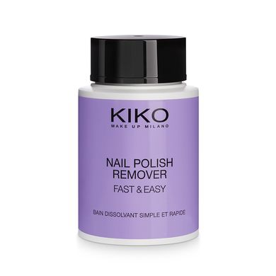 Nail Polish Remover Fast & Easy, Kiko - Infos et avis