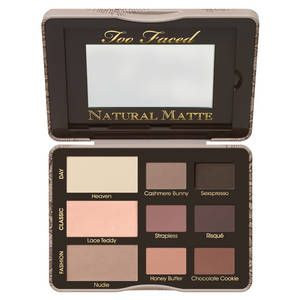 Natural Matte - Palette de fards à paupières, Too Faced : Team Vanity aime !