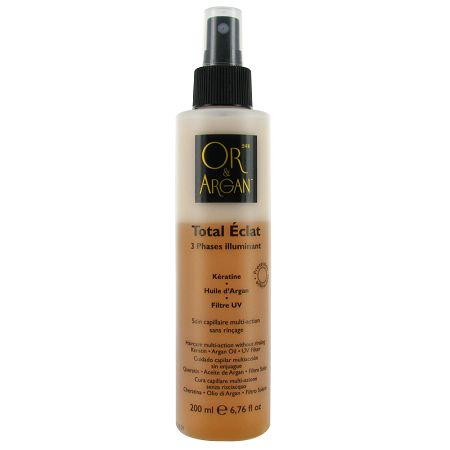 Total Eclat - Spray 3 Phases illuminant, Or & Argan : Team Vanity aime !