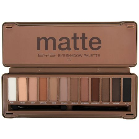 Palette 12 Fards Nude Mat Finish, BYS : Team Vanity aime !