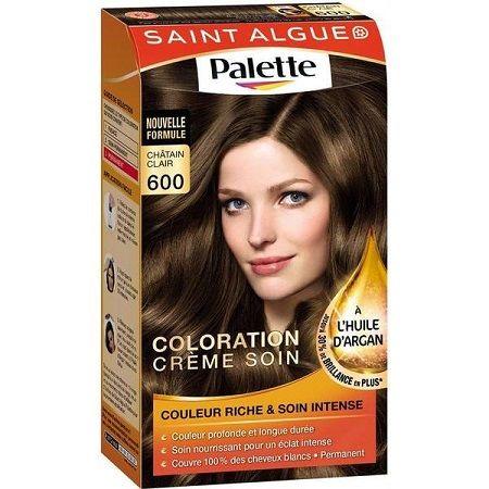 Coloration cheveux gamme de couleur