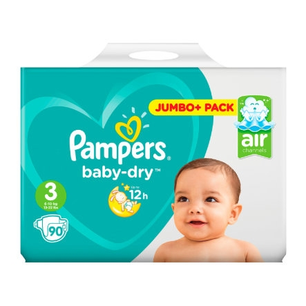 Babydry, Pampers : Team Vanity aime !