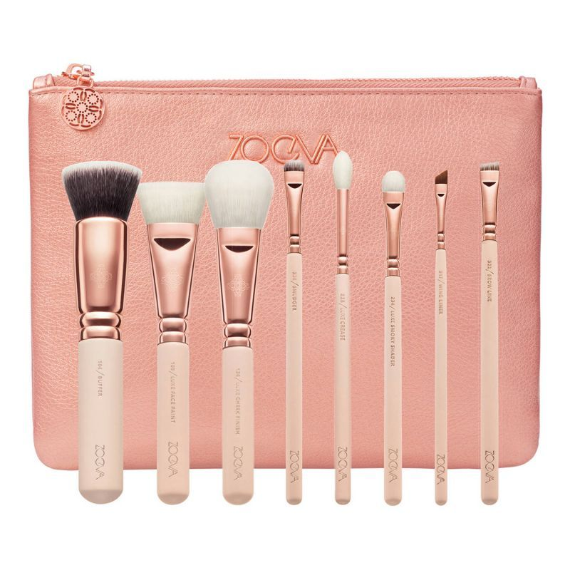 Rose Golden Luxury Set Vol.2 Set de pinceaux Visage et Yeux, Zoeva : Team Vanity aime !