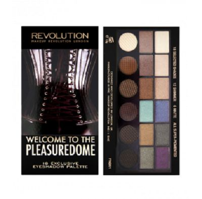 Salvation Palette Welcome to the Pleasuredome, Makeup Revolution - Infos et avis