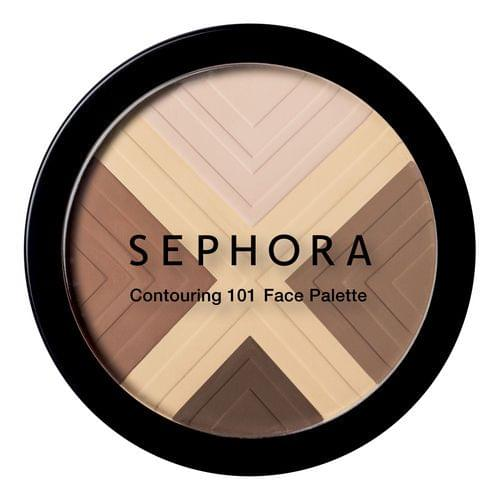 Contouring - 101 Face Palette, Sephora : Team Vanity aime !