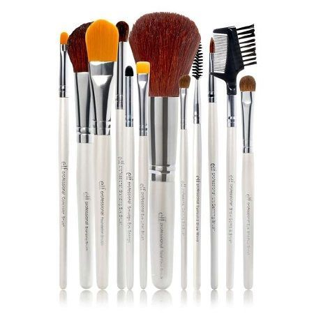 Set de 12 pinceaux professionnels e.l.f -  Essential Professional Complete Set of 12 Brushes, Eyeslipsface : Team Vanity aime !