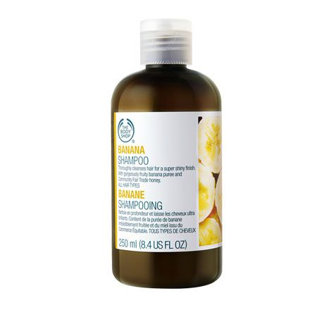 Shampoing Banane, The Body Shop : Team Vanity aime !