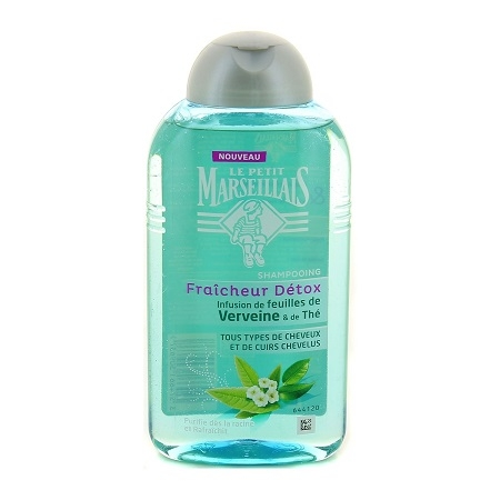 Fraîcheur detox Shampoing Infusé feuilles verveine et thé, Le Petit Marseillais - Infos et avis