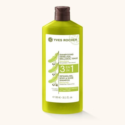 3 En 1 - Shampooing Démêlage, Brillance, Tenue - Soin Végétal Capillaire, YVES ROCHER - Infos et avis