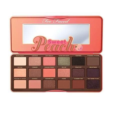 Sweet Peach Palette de fards à paupières, Too Faced : Team Vanity aime !