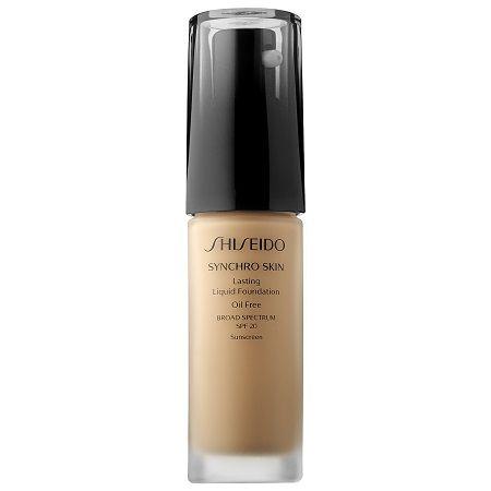 Synchro Skin - Teint Fluide Haute Tenue SPF 20, Shiseido - Infos et avis