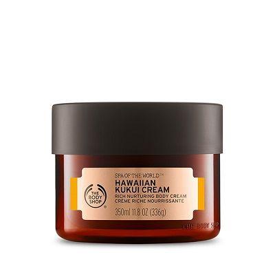 Crème Riche Nourrissante au Kukui d'Hawai Spa of The World, The Body Shop - Infos et avis