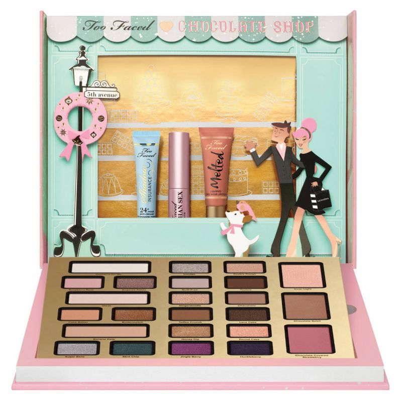 The Chocolatier - Coffret de maquillage, Too Faced - Infos et avis