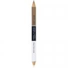 Crayon & Fixateur Duo pour sourcils, BYS - Maquillage - Produit à sourcils