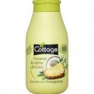 Douche lait énergisante Ananas Crème de Coco, Cottage