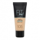Fitme Matte Poreless, Maybelline New York - Maquillage - Fond de teint