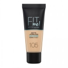 Fit Me Fond de Teint Matifiant, Maybelline New York