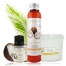 Huile de coco bio, Aroma-Zone - Cheveux - Huile