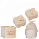 Kit Eco belle Bois, Les tendances d'Emma - Accessoires - Coton à démaquiller lavable