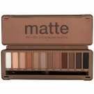 Palette 12 Fards Nude Mat Finish, BYS - Maquillage - Palette et kit de maquillage