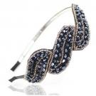 Serre-tête Cristal Bleu Nuit, Demarkt - Accessoires - Accessoires pour la coiffure